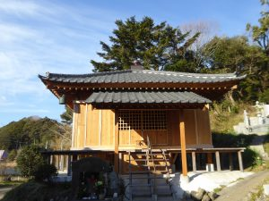 長藤薬師堂拝殿の画像
