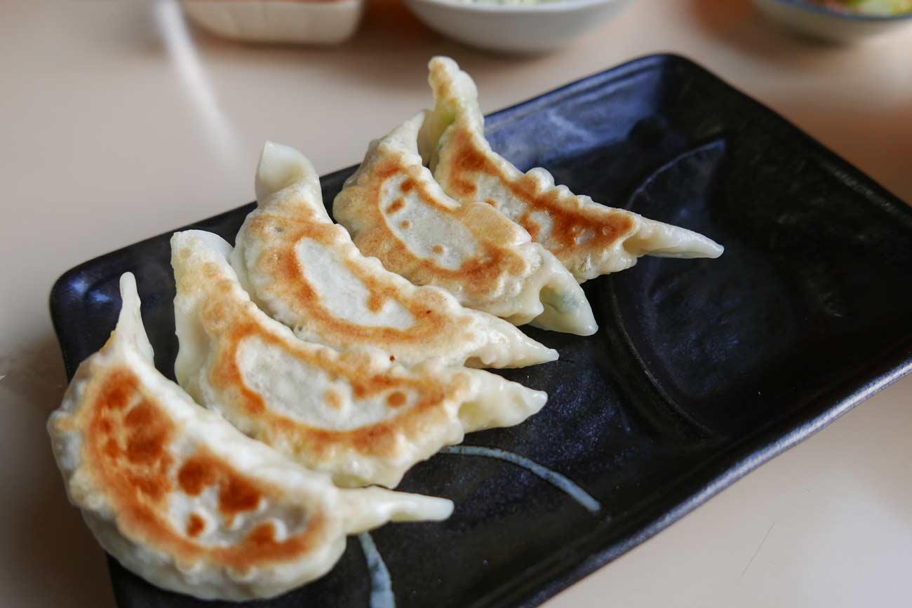 ラーメンむさしの焼き餃子の画像