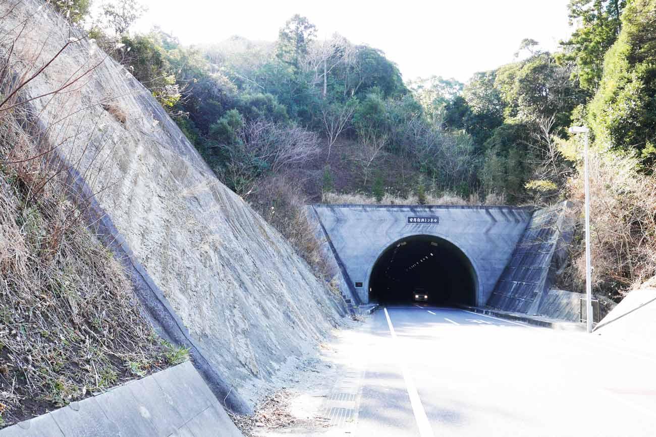 安房白浜トンネルの画像