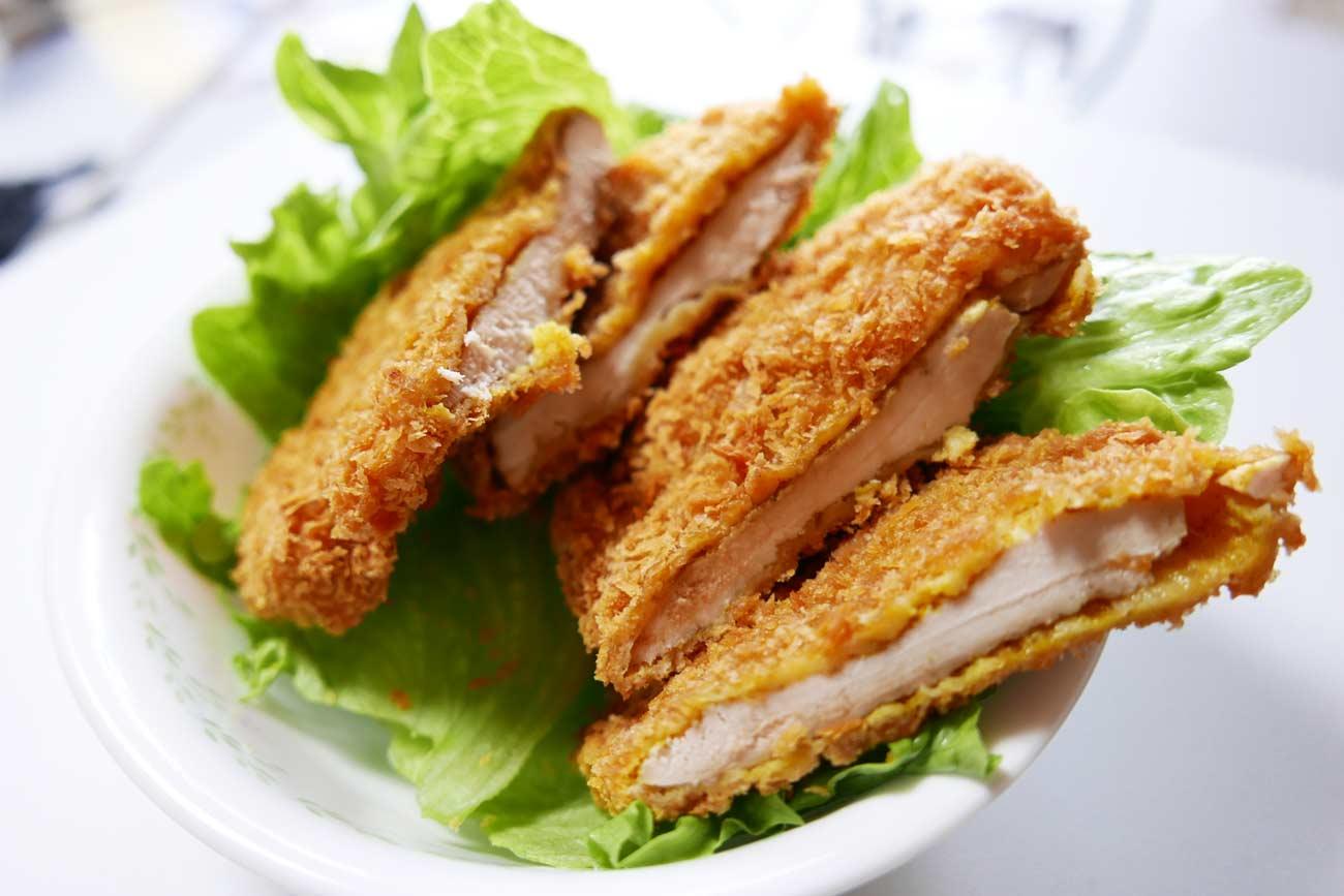 釜新のカレー風味の鶏のフライの画像
