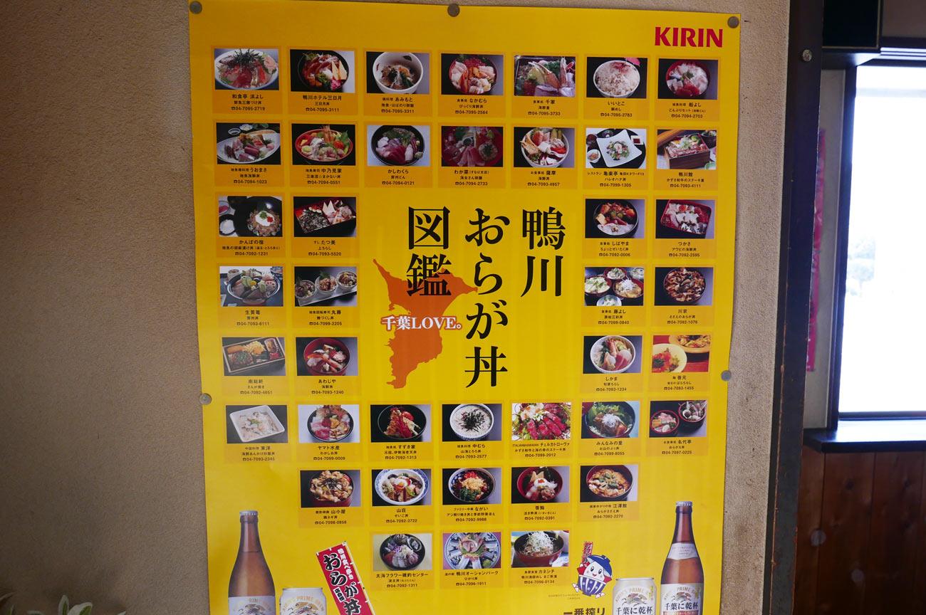 鴨川市おらが丼図鑑の画像