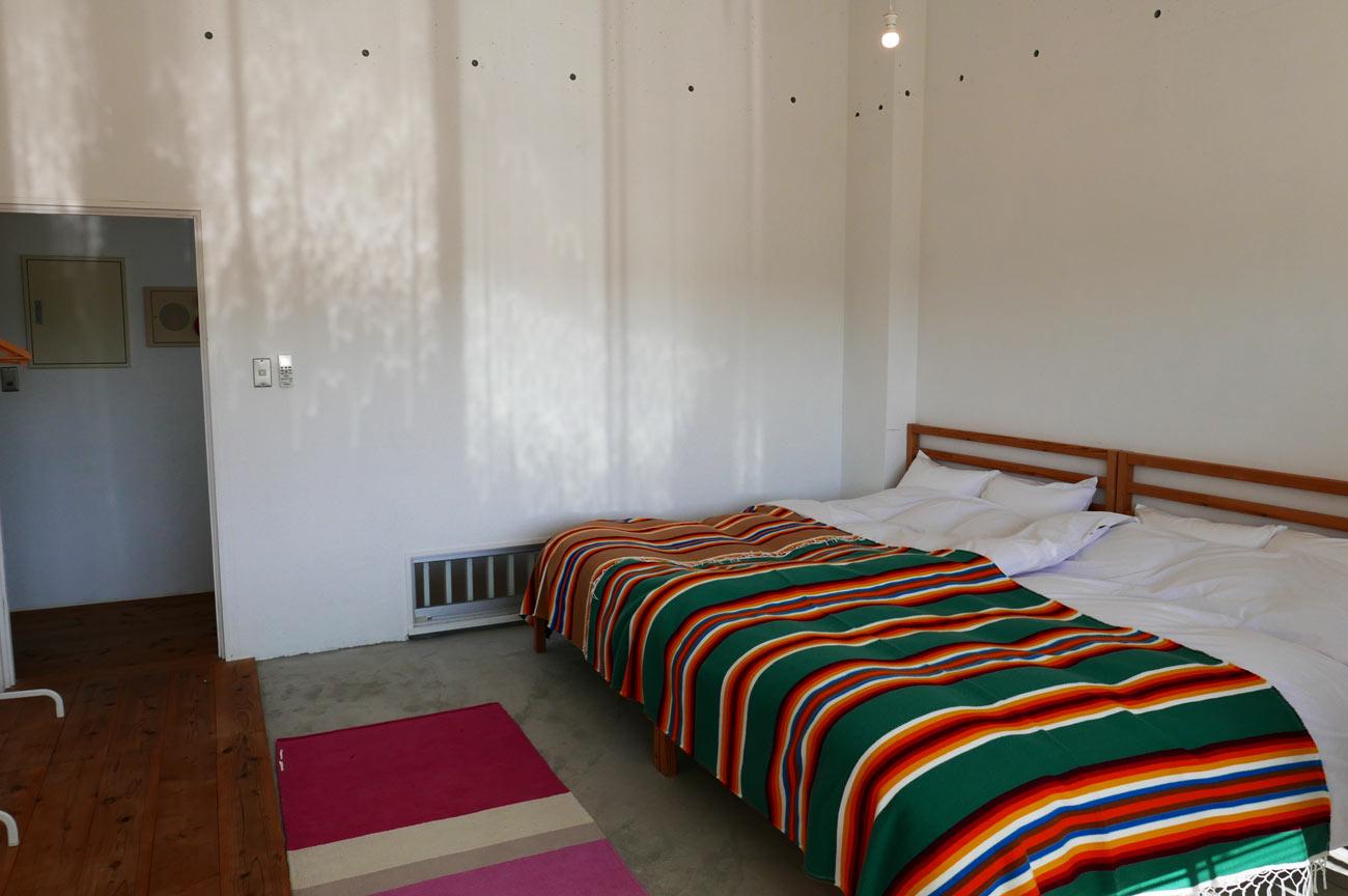 2階の宿泊部屋