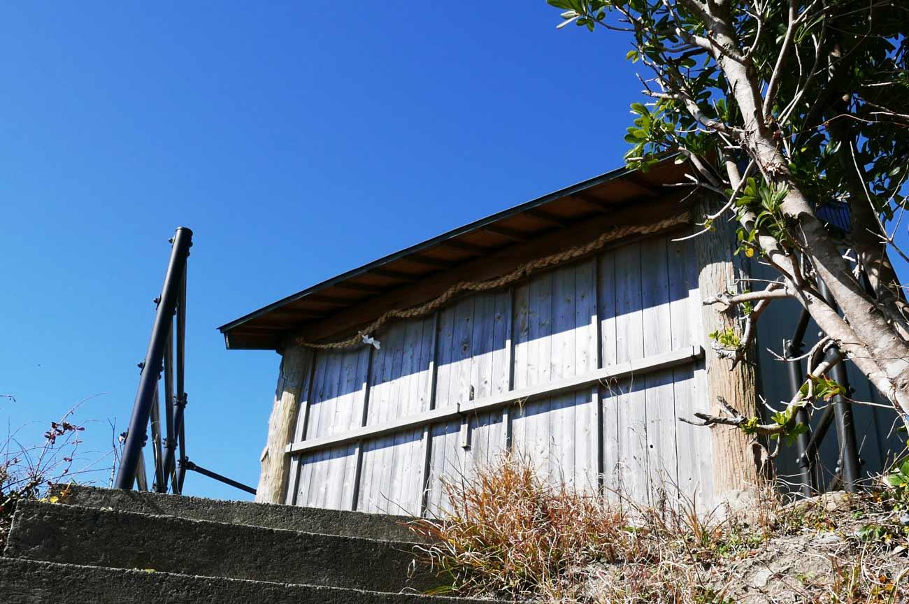 浅間神社頂上の社の画像