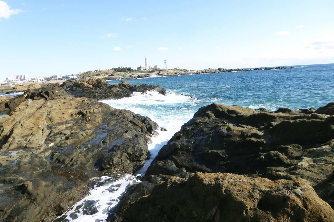 珍宝島右側のポイント