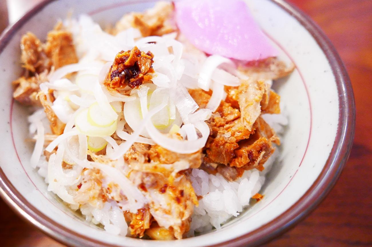 うさぎ家の豚ごはん(ガリガリラー油味)の画像