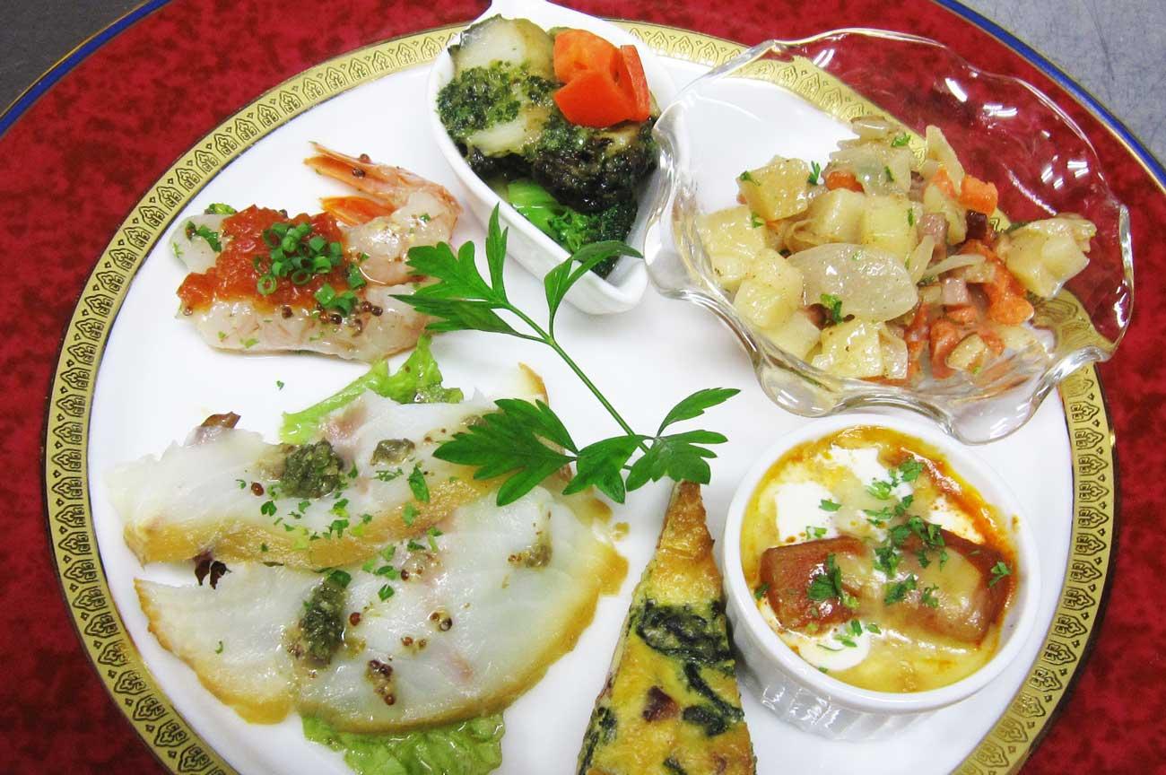 レストラン大澤の盛り合わせオードブルの画像