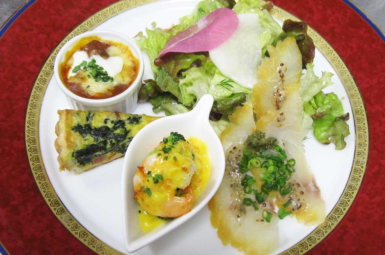 レストラン大澤のランチAコース・オードブルの画像