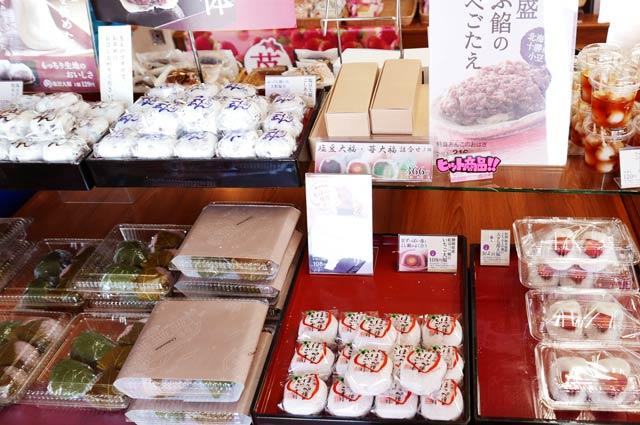 桜餅と大福の画像