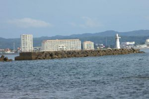船形港沖堤防の画像