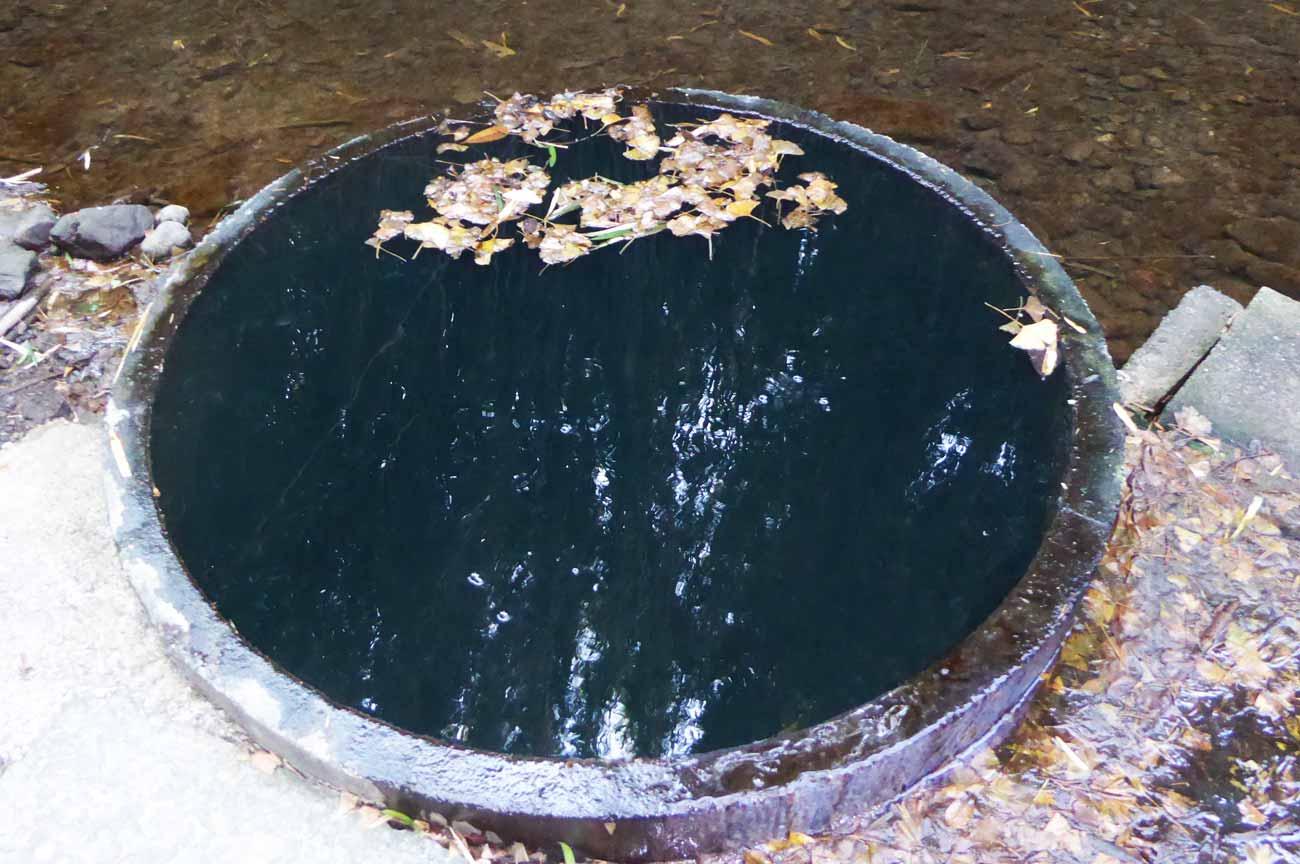 弘法井戸のアップ画像
