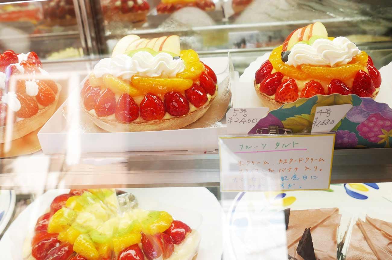 KIYOTAのデコレーションケーキの画像
