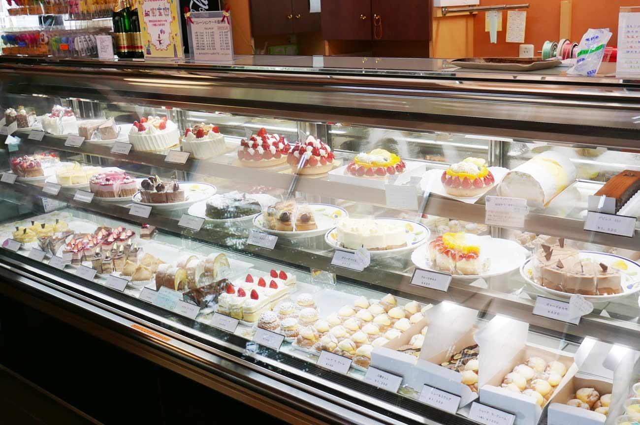 KIYOTAのケーキコーナーの画像