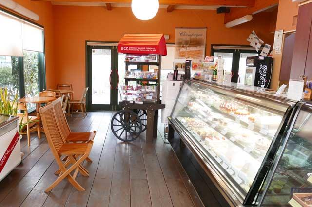 KIYOTAのカフェコーナーの画像