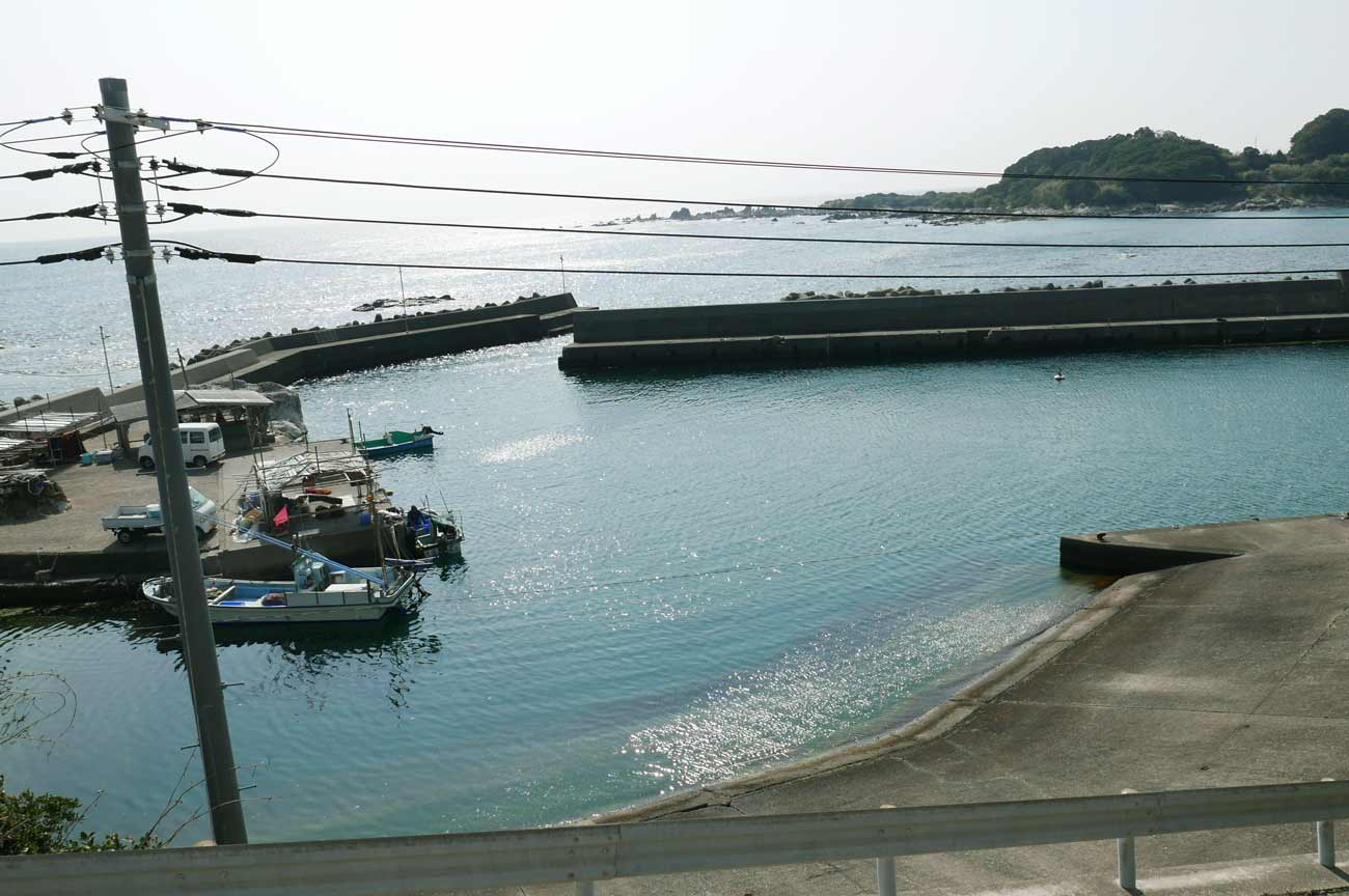 小正月港左堤防のポイント