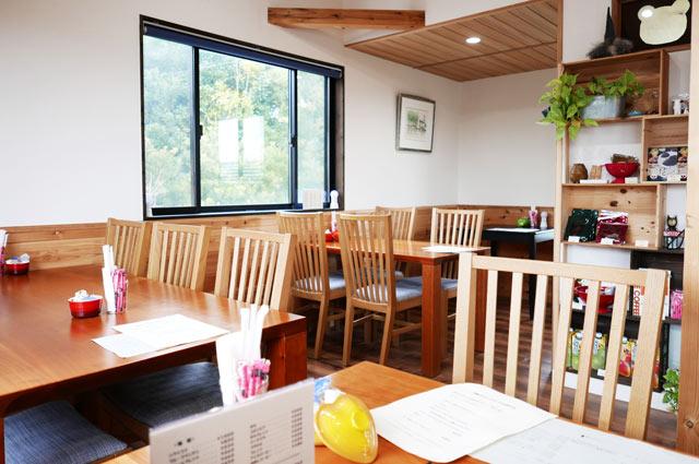 くまカフェ店内の画像