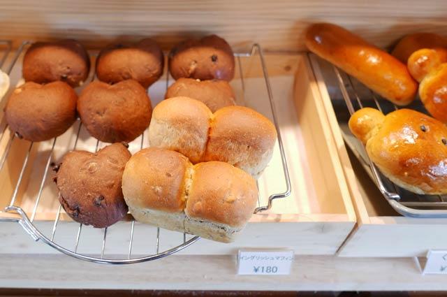 くまカフェのイングリッシュマフィンの画像