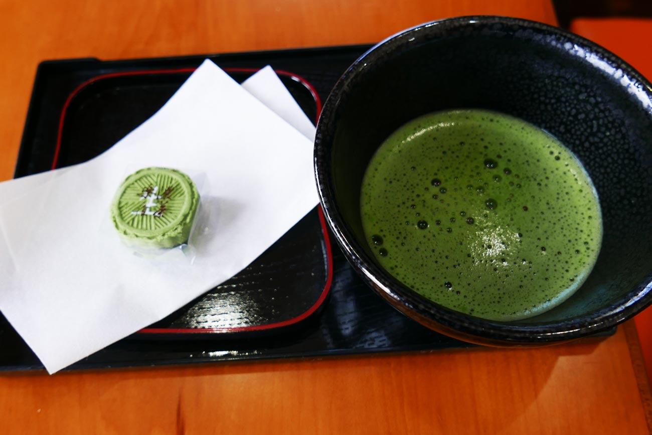 カフェ セレクトの抹茶の画像