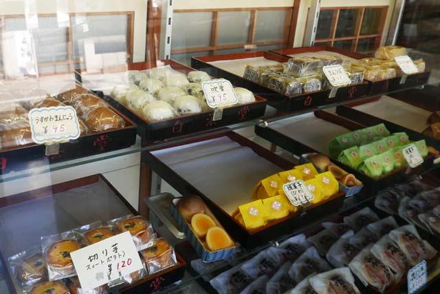 焼き菓子(びわ)、焼き菓子(梅)の画像