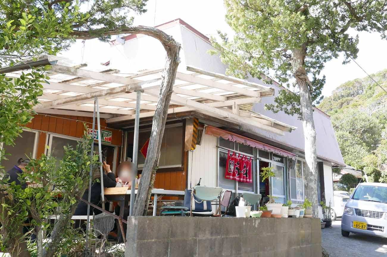 ラーメンショップ天狗の店舗外観画像