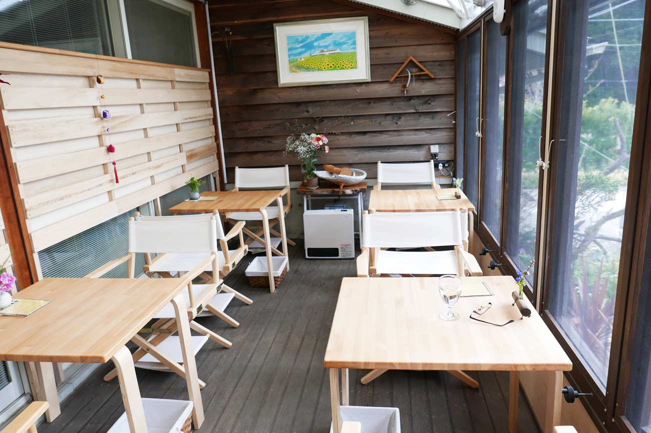 パン工房ばんぱんのカフェの画像