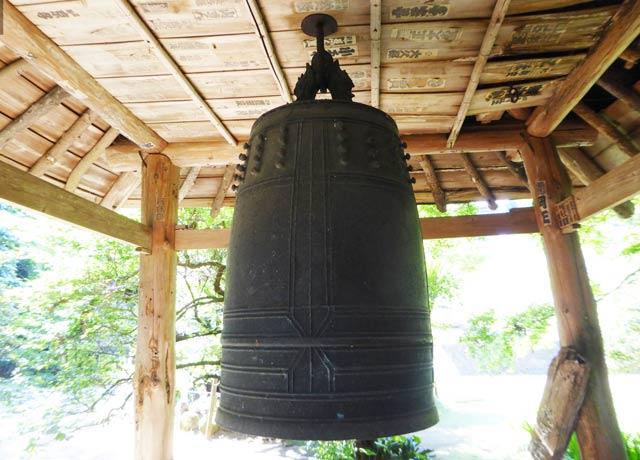 梵鐘のアップ画像