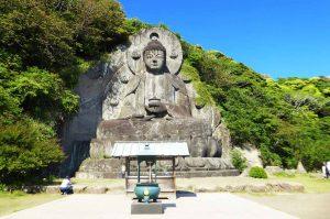 鋸山日本寺の大仏の画像