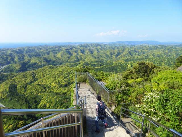 山頂展望台からの眺望