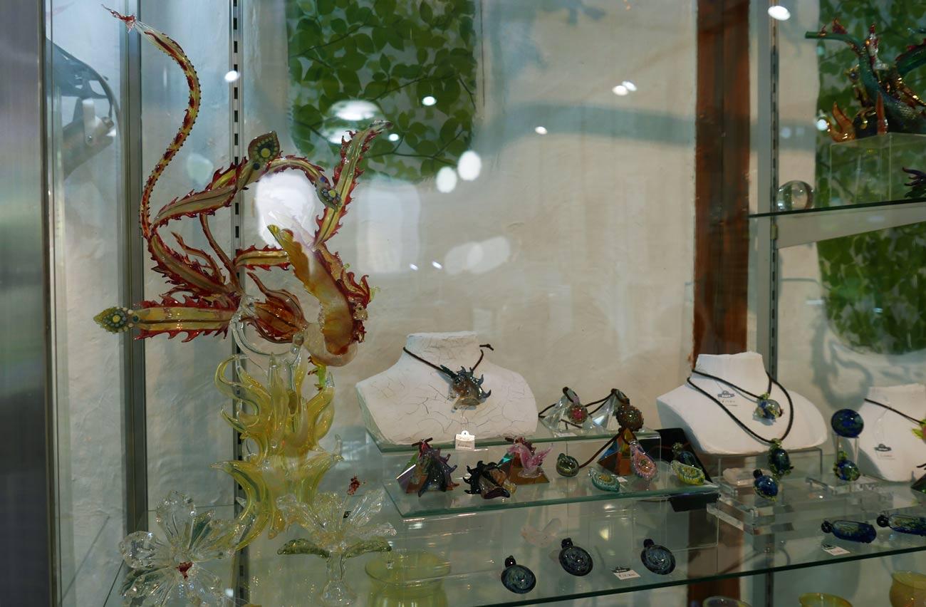 アルコスのガラス細工の画像