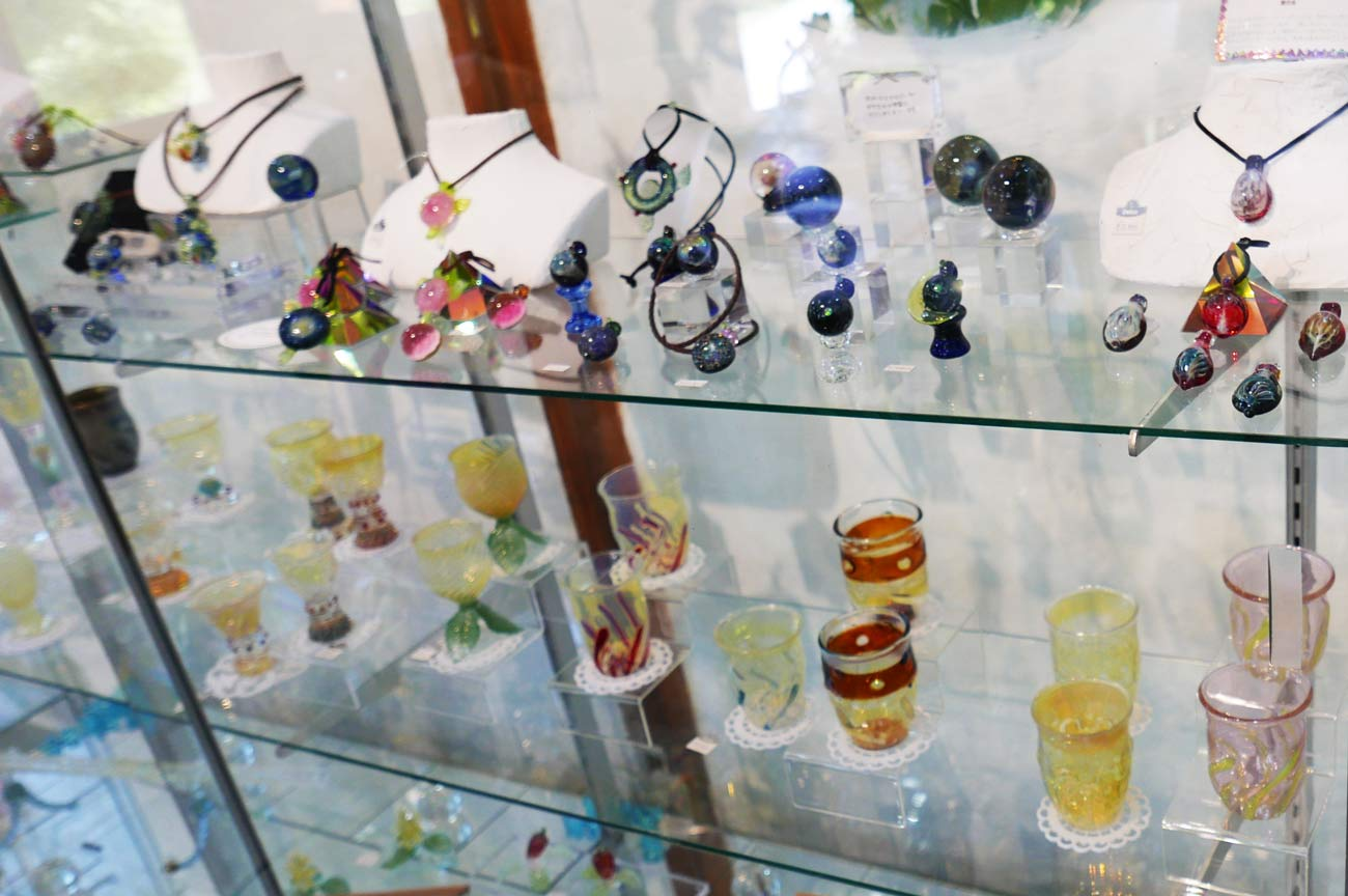 ガラス工芸体験画像