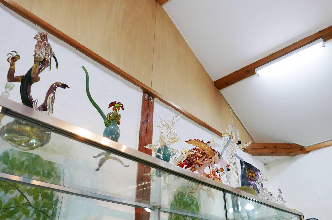ガラス工房アルコスの鳳凰の作品画像