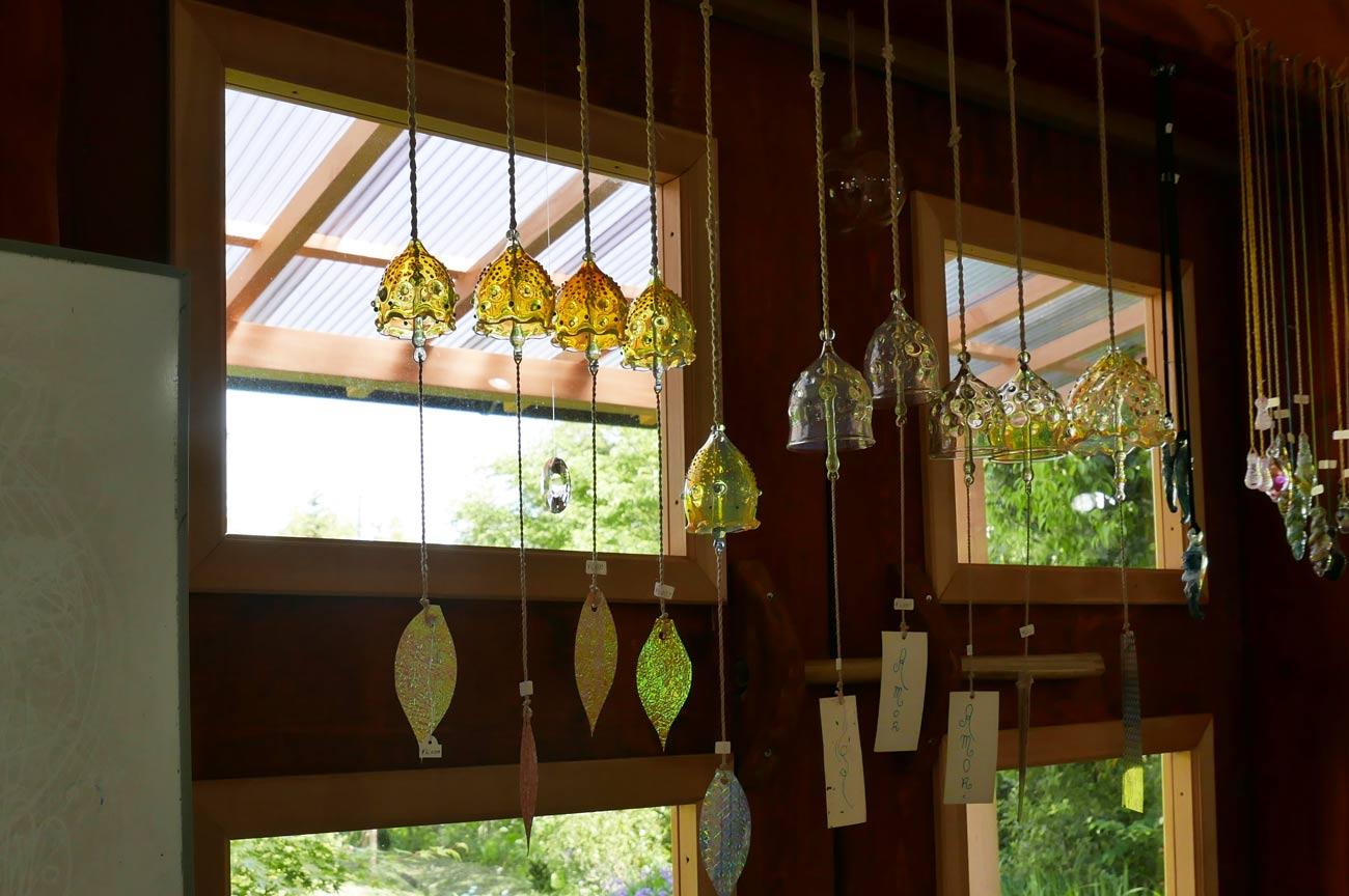 ガラス工房アルコスの風鈴の画像