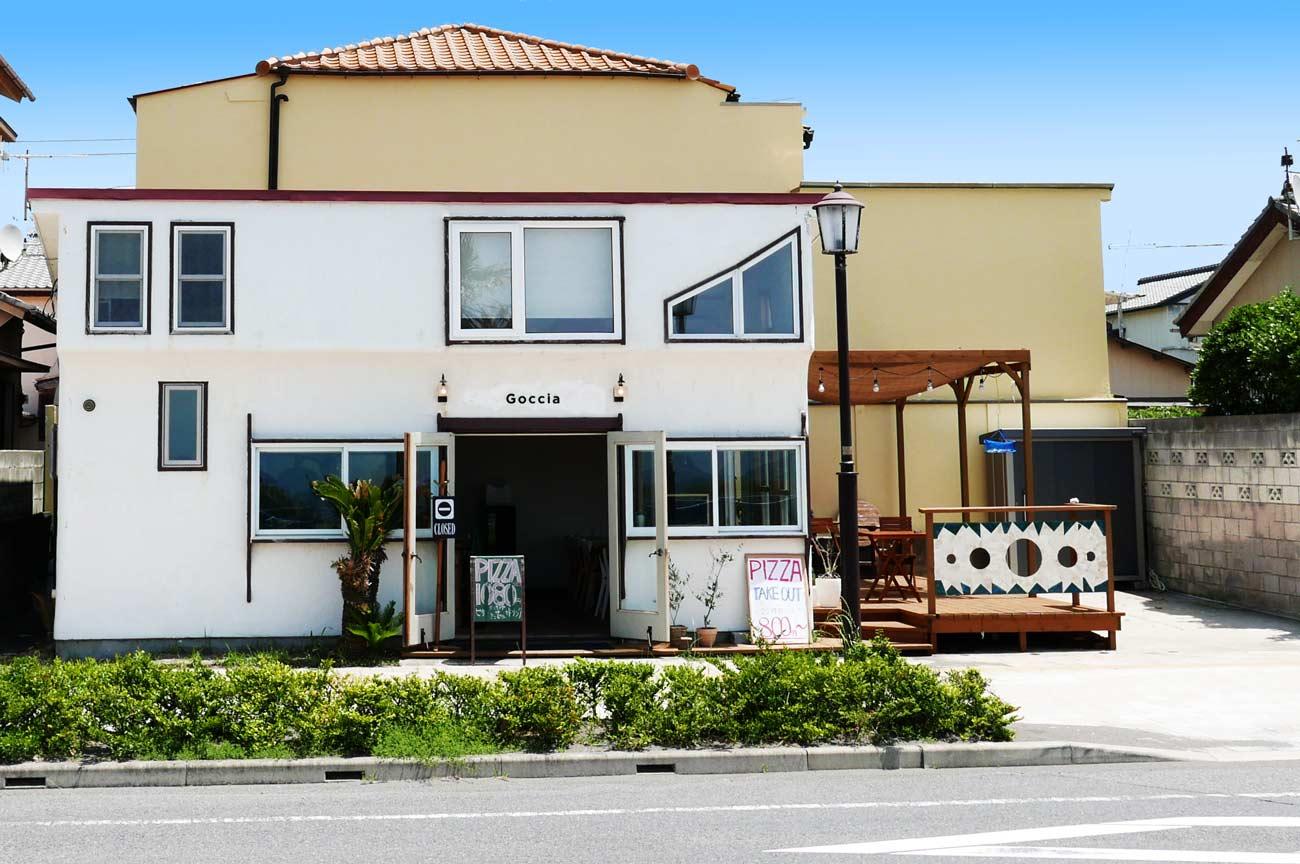 Gocciaの店舗外観画像