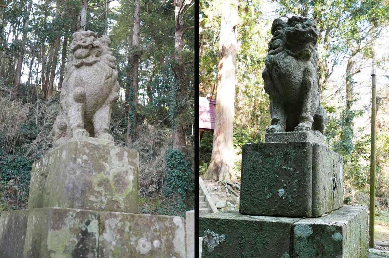 貴船神社狛犬の画像