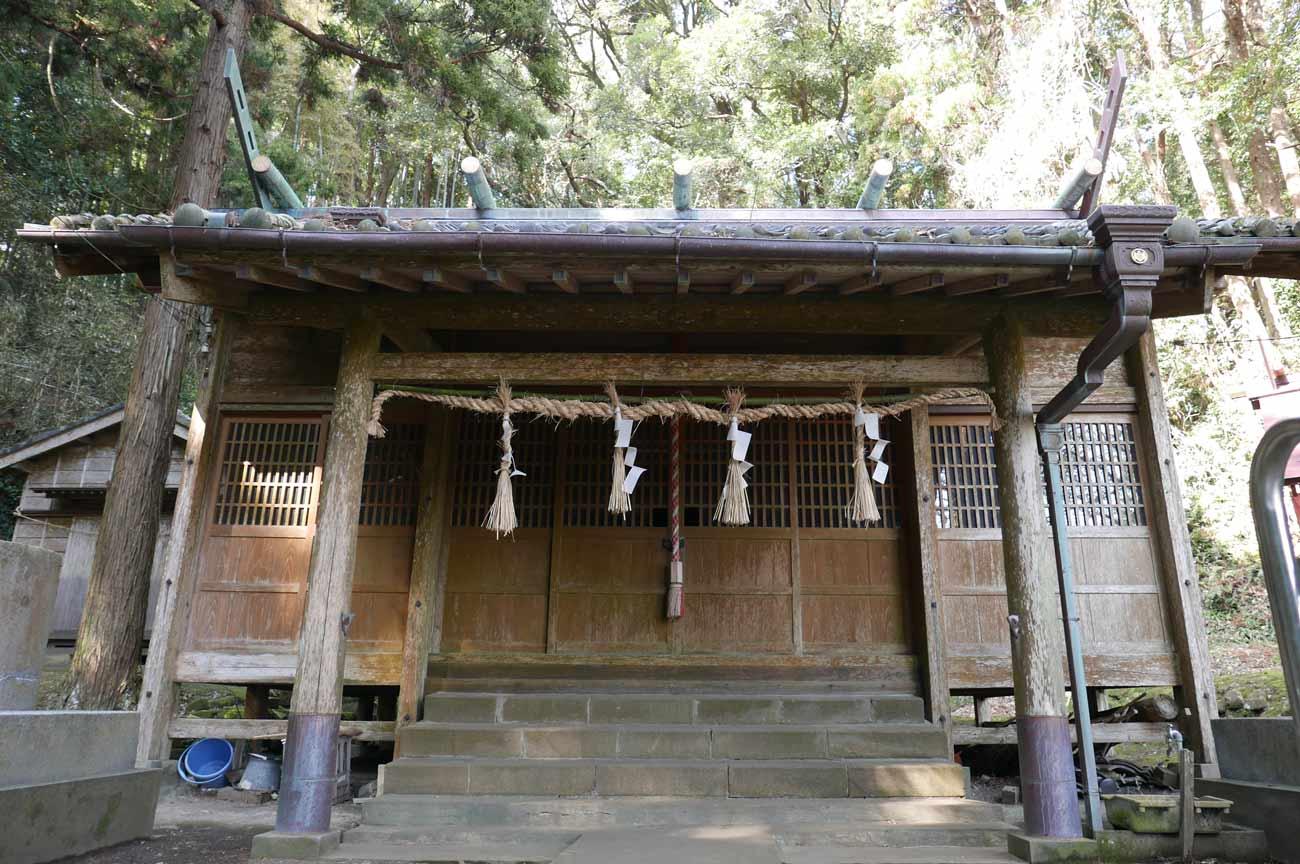 貴船神社拝殿の画像