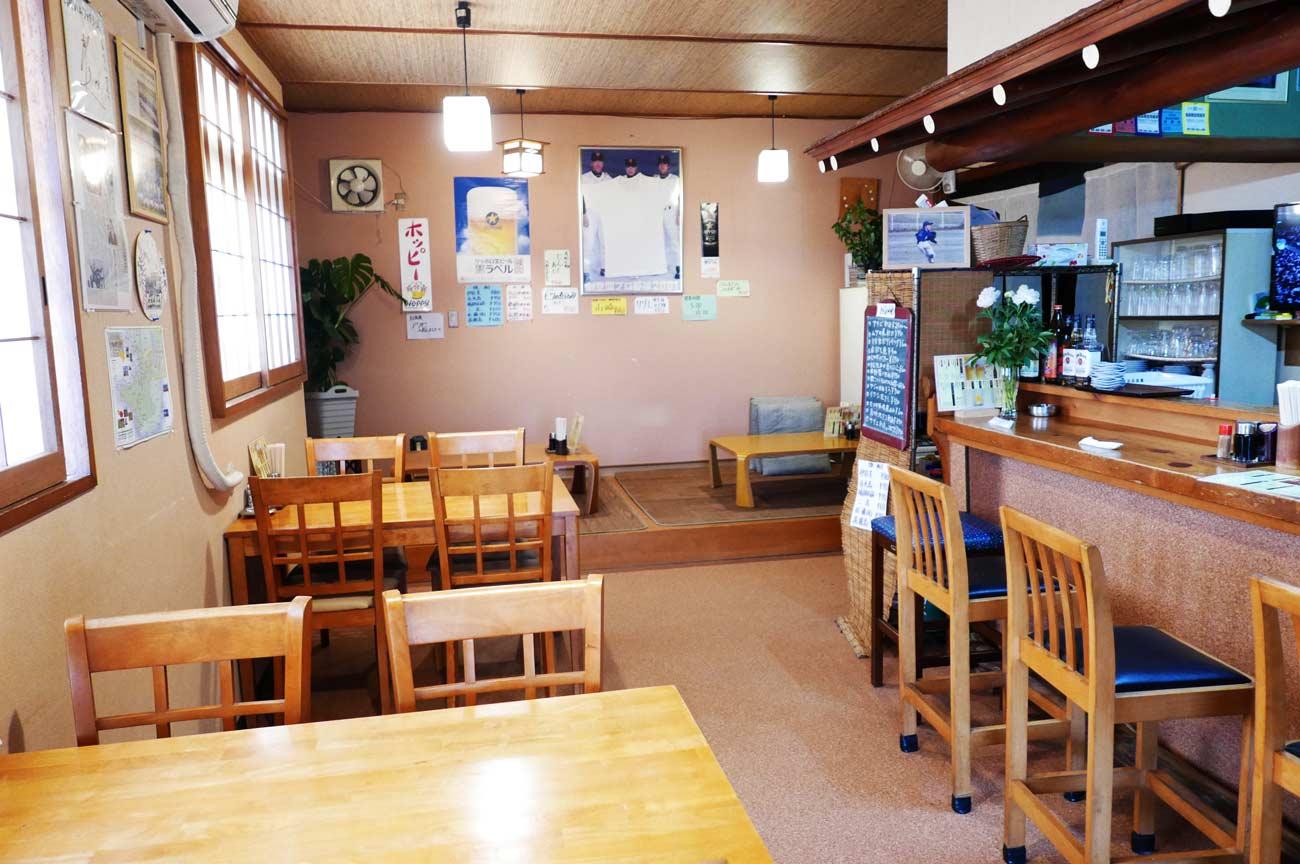 居食房とりいの店内画像