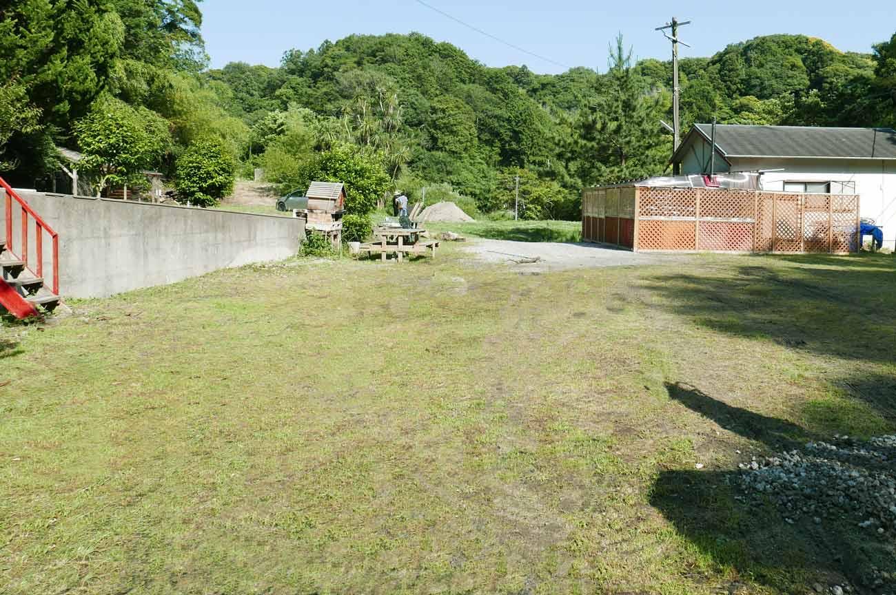 オートキャンプ場の全景画像