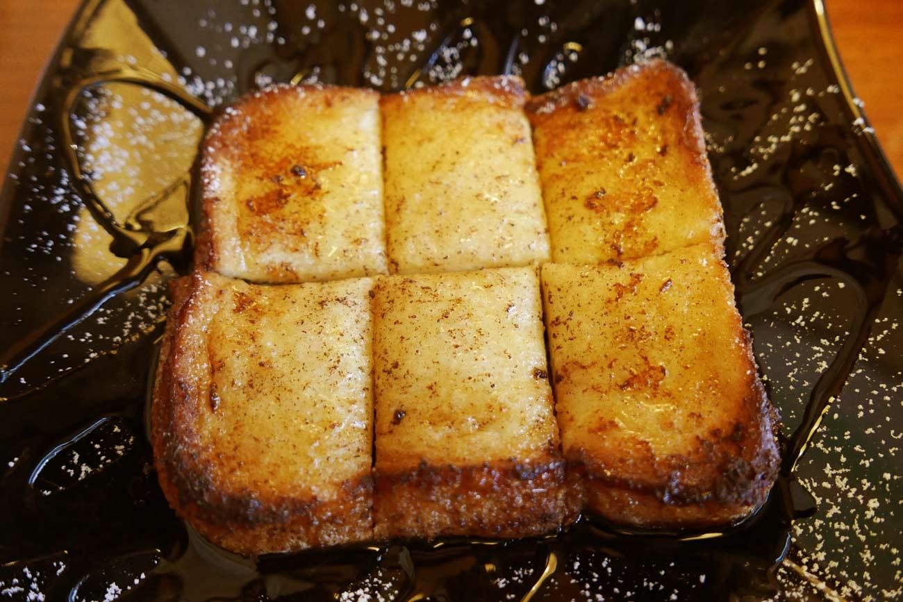 豆腐フレンチトーストの画像