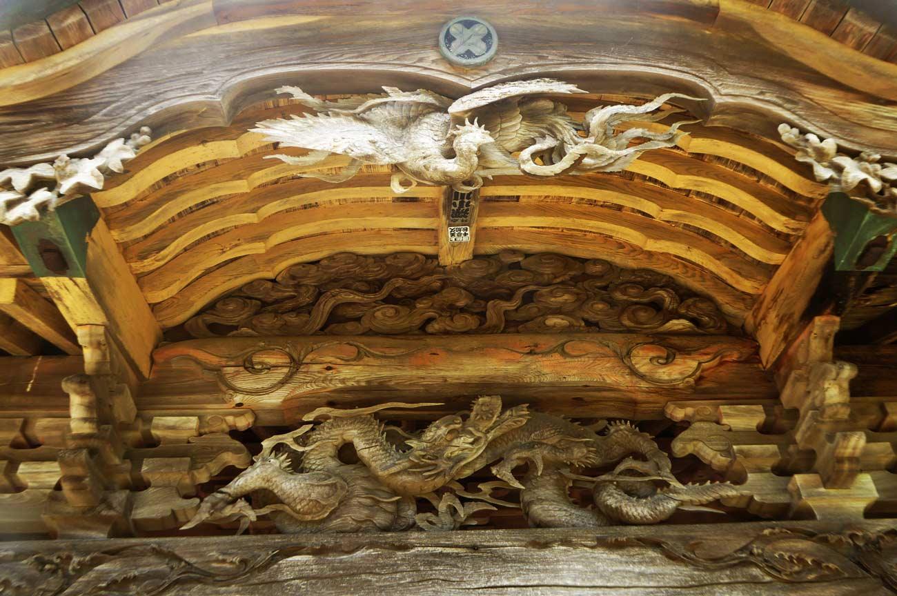 三代目波の伊八の鳳凰の画像
