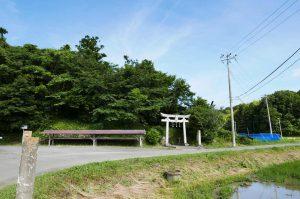 駒形神社の全景画像