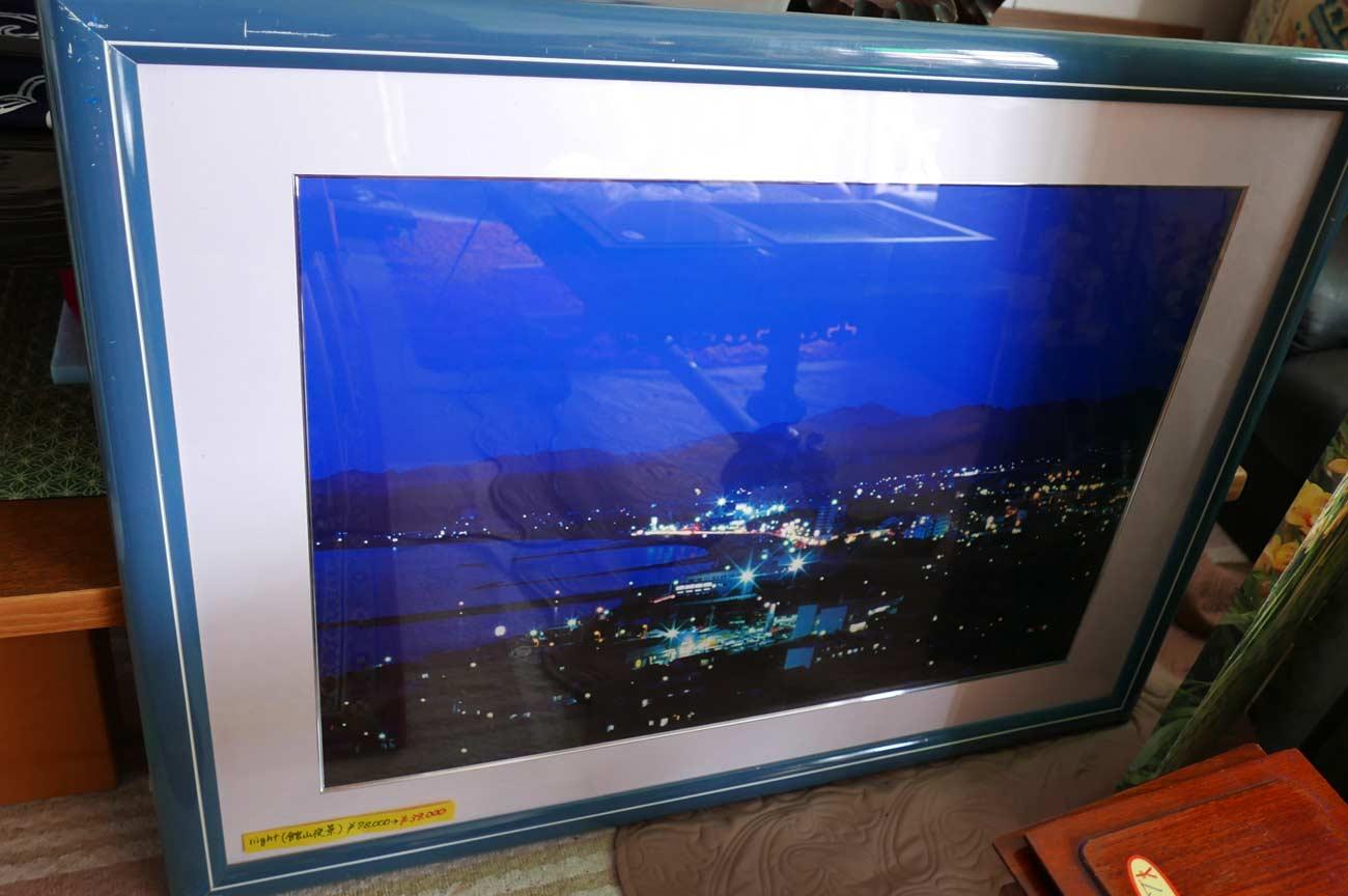 館山の夜景の画像