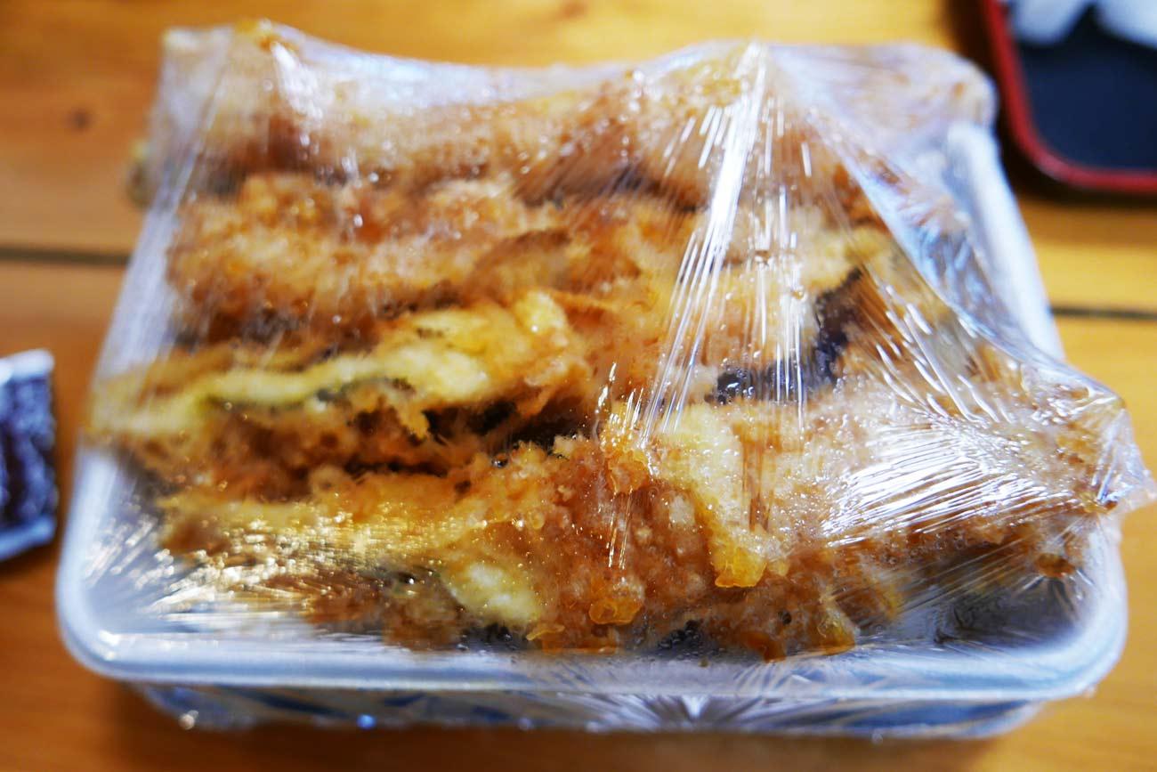 まるよのアナゴ丼の画像