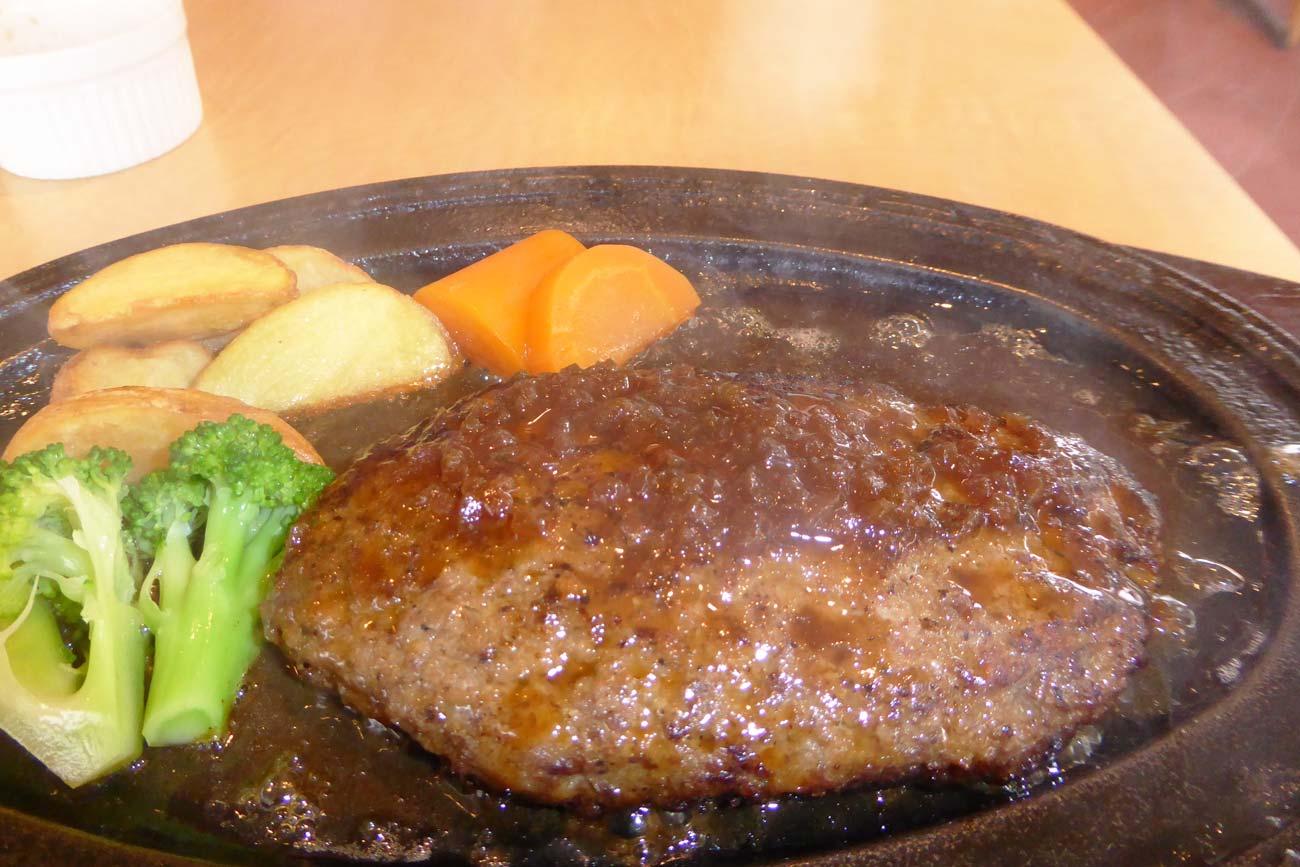 ハンバーグステーキの画像