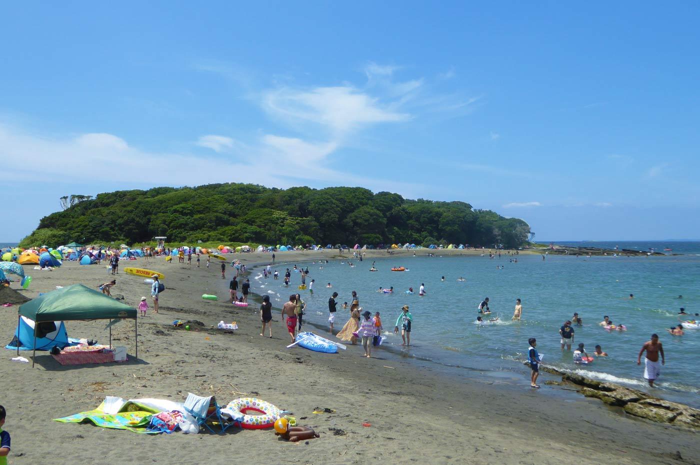 沖ノ島海水浴場の画像