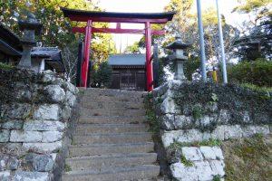王子神社の鳥居の画像