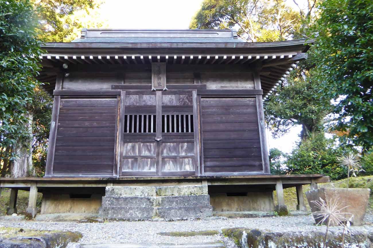 王子神社拝殿の画像