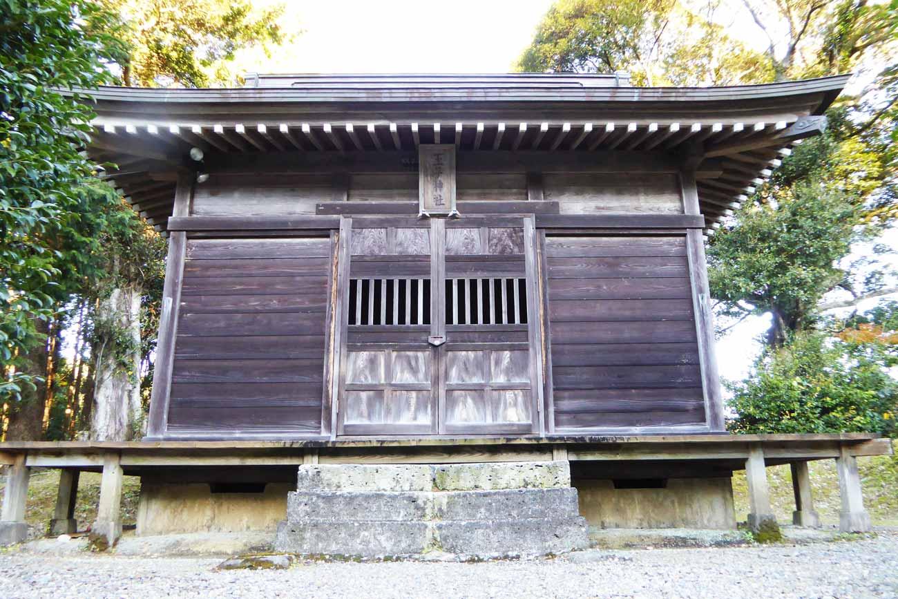 王子神社拝殿のアップ画像