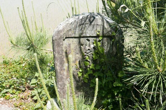 境内の石碑の画像