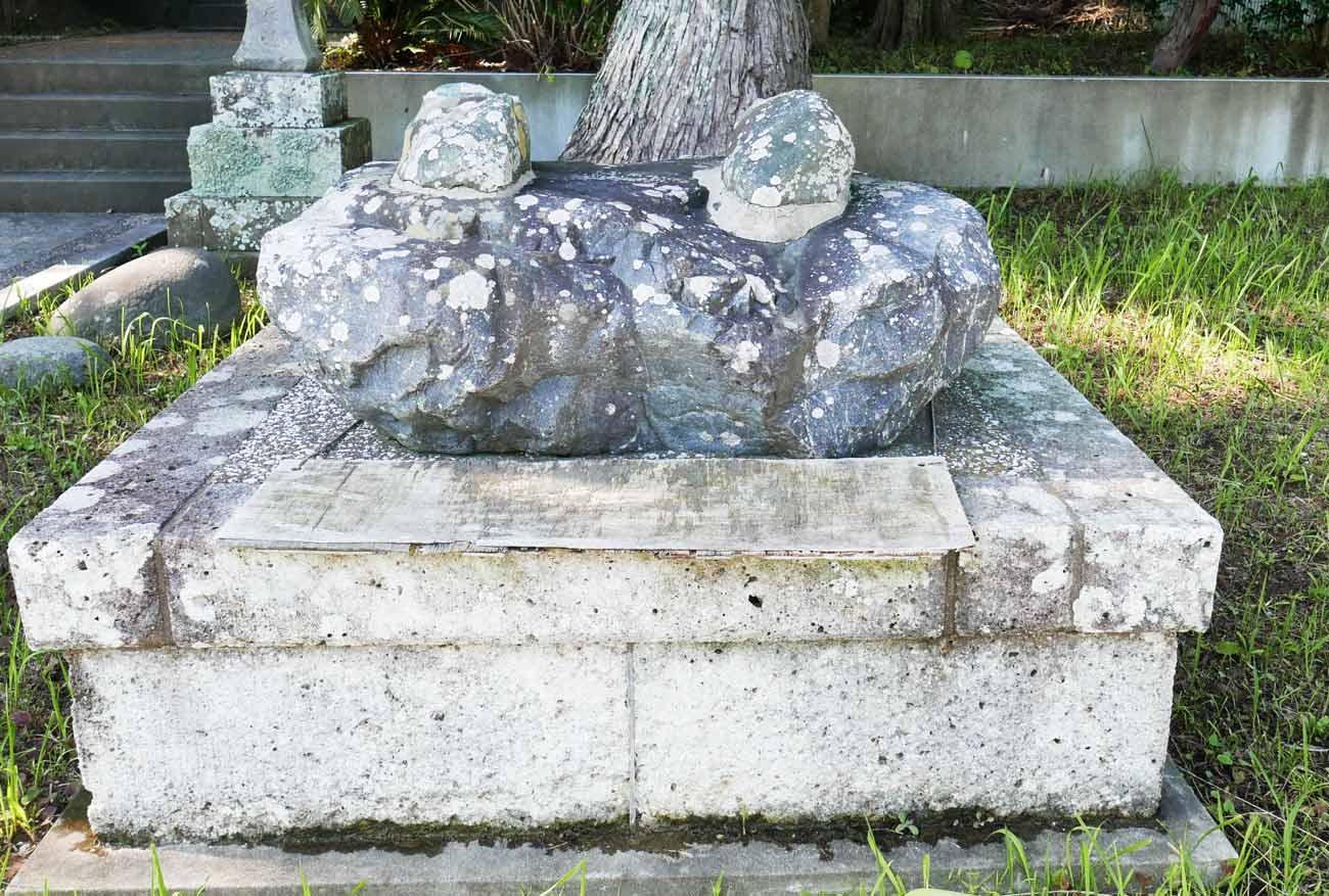 白岩弁財天の井戸の跡の画像