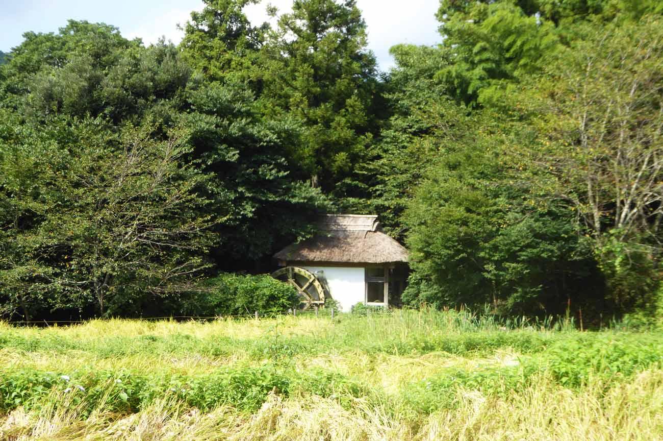 吉井農村公園の水車小屋の画像