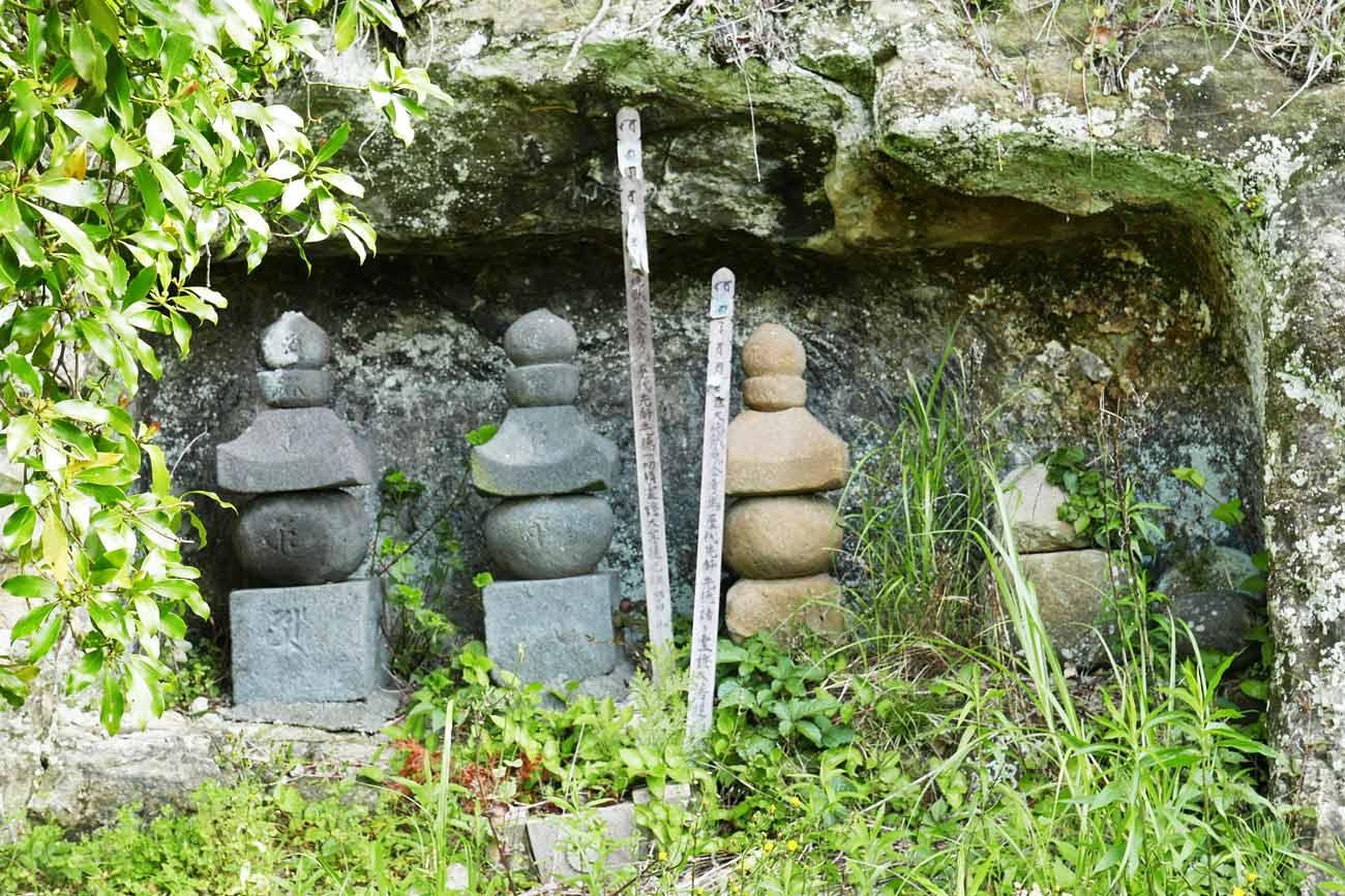 善性寺のやぐら群(その1)の画像
